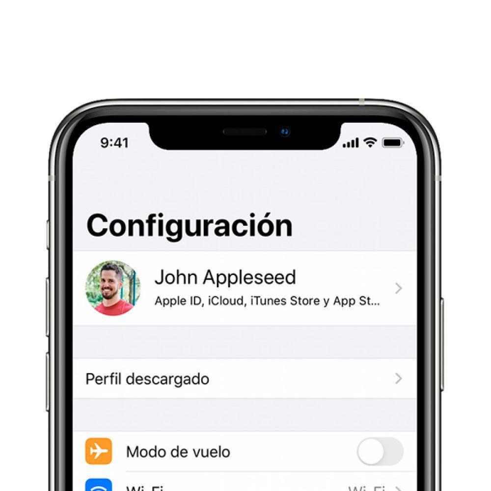 Configuración o actualización iPhone 6